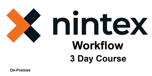 Intro. to Nintex (On-Premise) Workflows - 3 Day Course - Hybrid Event