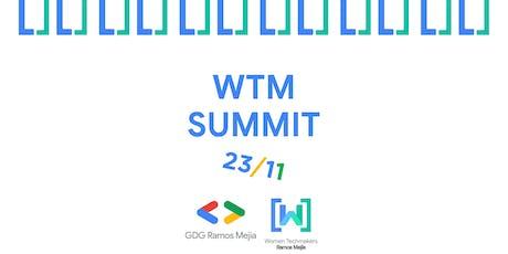 Panel de Mujeres - Women Tech Makers Ramos Mejía entradas