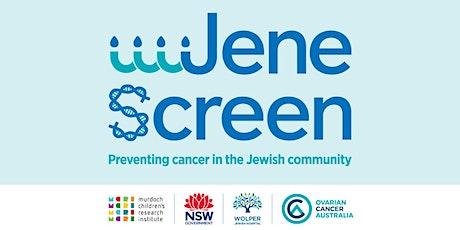 JeneScreen - Jewish Community BRCA Screening Event tickets