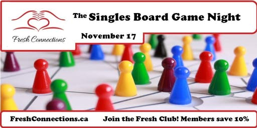 The Nanaimo Singles Board Game Night