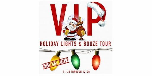 Annual VIP Holiday Lights & Bar Crawl Tour of Cleveland