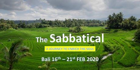 The Sabbatical Mindfulness Retreat 2020 tickets