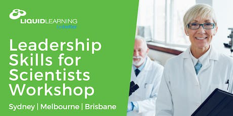 Leadership Skills for Scientists Workshop tickets