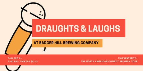 Draughts & Laughs at Badger Hill! tickets