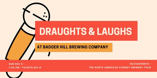 Draughts & Laughs at Badger Hill!