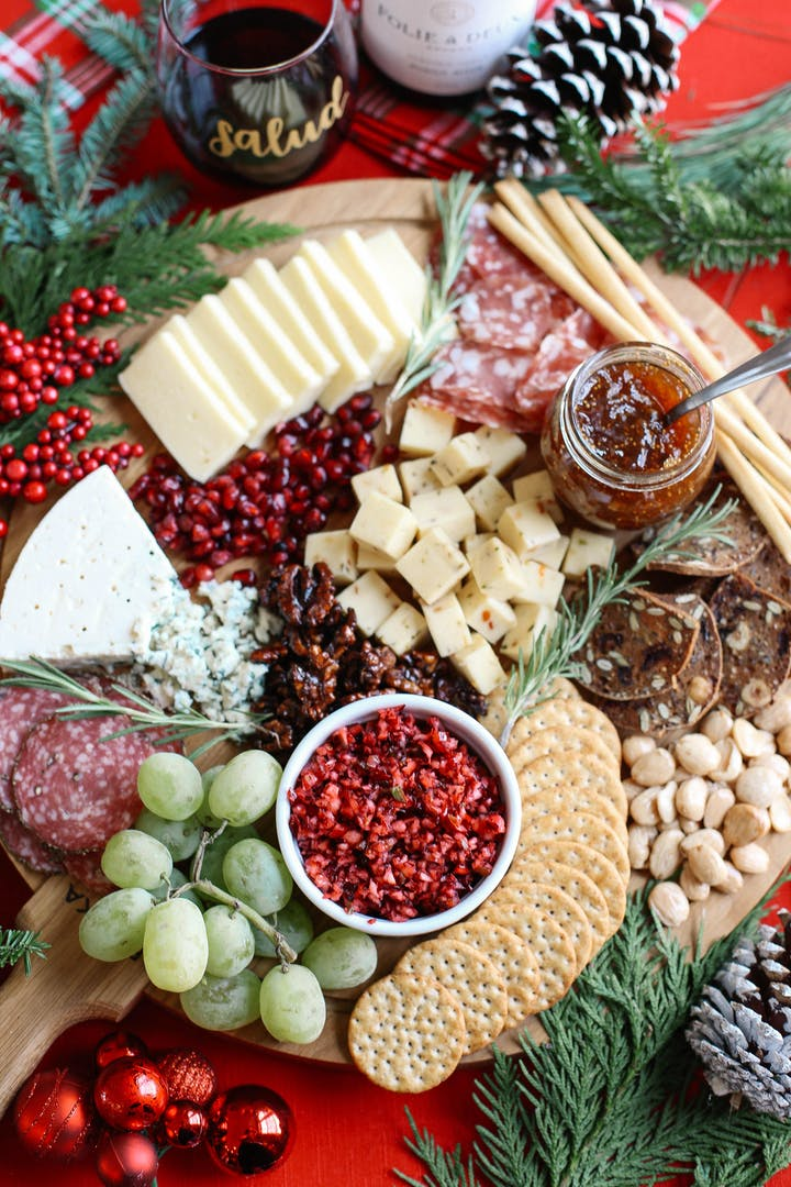 Christmas Cheese Board Ideas.Virtual Holiday Charcuterie Cheese Board Workshop