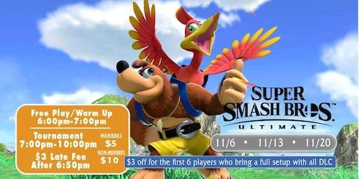 Wednesday Ultimate Smash Bros Weeklies