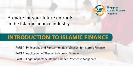 Introduction to Islamic Finance tickets