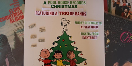 A Pool House Records Christmas tickets