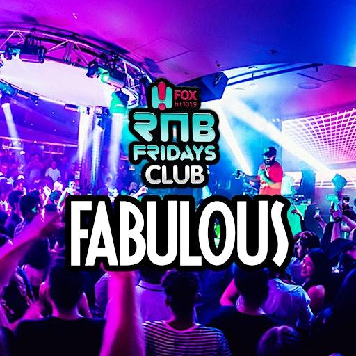 RnB Fridays Club Fabulous logo