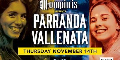 Viva Colombia! Parranda Vallenata Thurs Nov 14th Blue Martini Ft Lauderdale