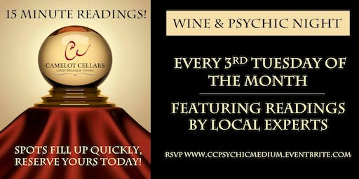 Wine & Psychic Night