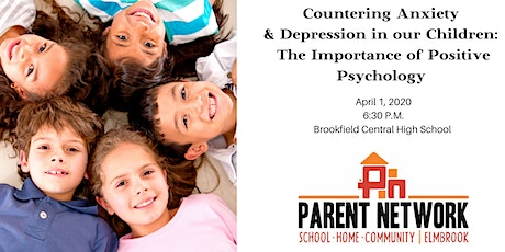 Countering Anxiety and Depression in our Children tickets