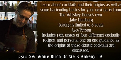 Holiday Cocktails Class tickets
