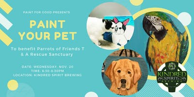 Paint Your Pet Night