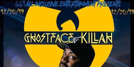 GhostFace Killah tickets