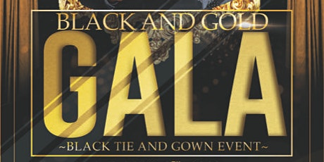 Black & Gold Gala tickets