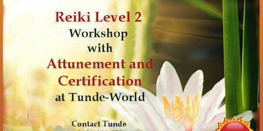 REIKI 2 Professional Weekend Training