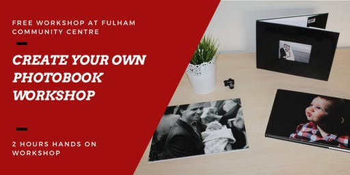 How to create a photobook workshop