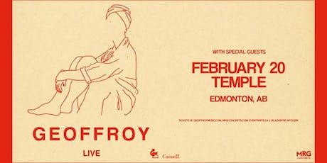 Geoffroy tickets