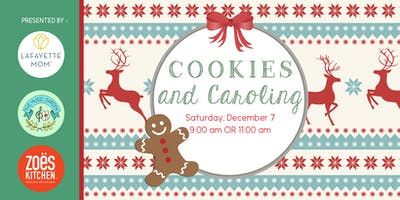 Cookies & Caroling — Lunchtime  (11:00 a.m.)