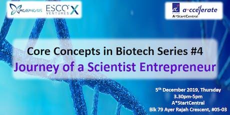 Journey of a Scientist Entrepreneur tickets