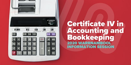 Accounting & Bookkeeping 2020 Information Session - Warrnambool tickets