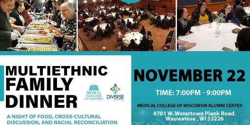 2019 Multiethnic Family Dinner and Discussion
