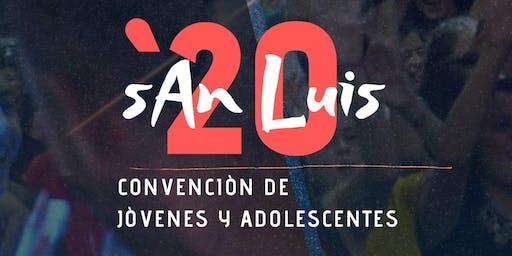 CONVENCIÓN DE JÓVENES Y ADOLESCENTES IEP 2020