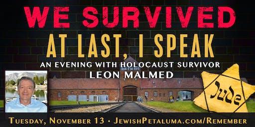 An Evening with Holocaust Survivor Leon Malmed