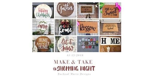 Craft Make & Take at ILS Shopping Night