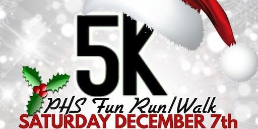 Plaquemine High  Holiday 5k Fun Run/Walk