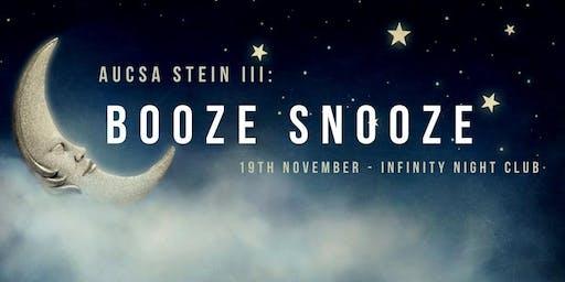 AUCSA STEIN III: Booze Snooze