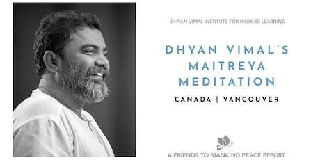 Maitreya Meditation tickets