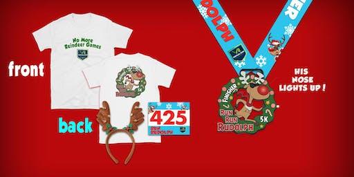 2019 - Run Run Rudolph Virtual 5k Run Walk - Augusta
