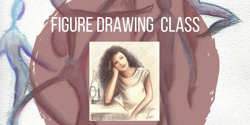 Figure Drawing for Kids - w/ Live Model  (Middle and High School Class)