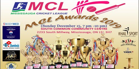MCL AWARDS GALA 2019 tickets