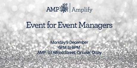 Event for Event Managers tickets