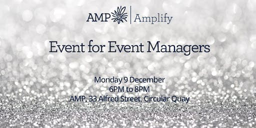 Event for Event Managers