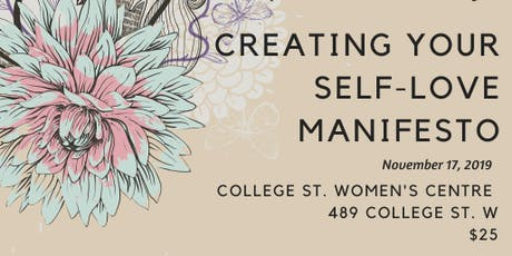 Creating Your Self-Love Manifesto tickets