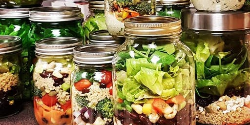 Healthy Living Event - Salad in a Jar with The Wellness Equation