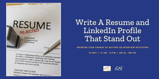Write a Resume and LinkedIn Profile That Stand Out!