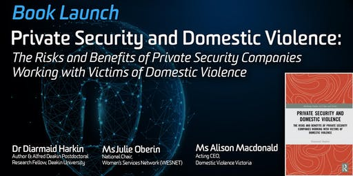 Book Launch: Private Security and Domestic Violence