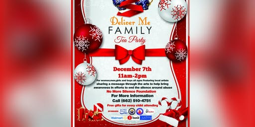 4th Annual Holiday Tea Party ~ENDING THE SILENCE ON CHILDHOOD SEXUAL ABUSE