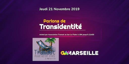 """Conférence """"Parlons de Transidentité"""" animé par Association Transat"""