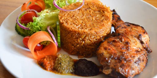 THE 'JOLLOF EXPERIENCE' COOKING CLASS