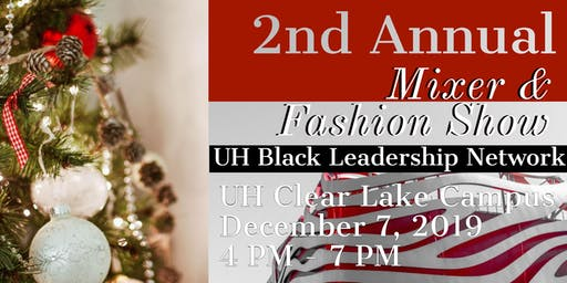 The Black Leadership Network 2nd Annual Mixer & Fashion Show Fundraiser