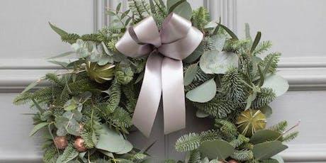 DIY: Christmas wreath tickets