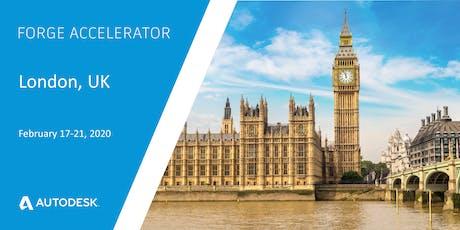 Autodesk Forge Accelerator - London, UK (February 17-21, 2020) tickets