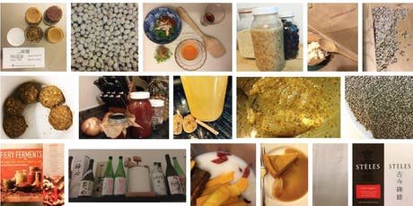 Koji and Malts: Soy Sauce, Beer, Hot Sauce, and other brews and ferments tickets